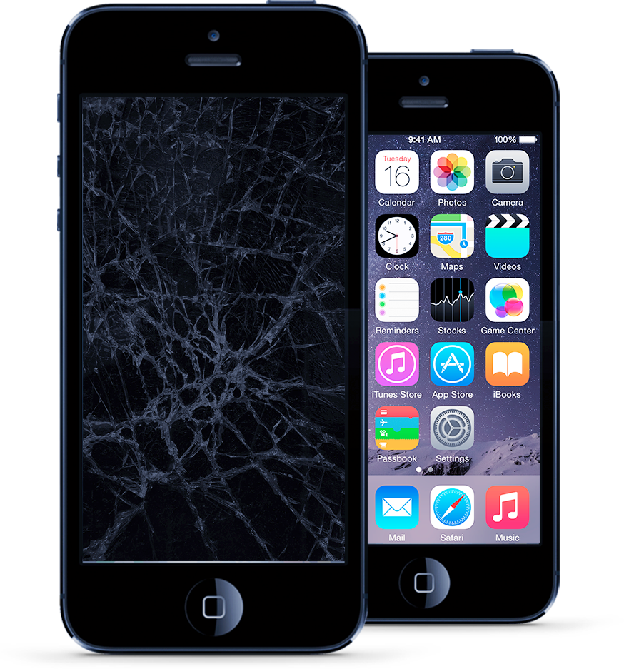 Contact us today for an iPhone 5 repair, it only takes an hour for us to repair it!